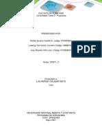 Consolidado Tarea 3 - Propuesta cultivo de mora