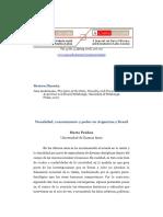 Penhos, Visibilidad conocimiento y poder en la Argentina