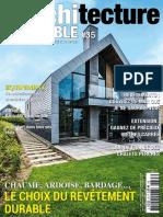 Architecture Durable - Novembre 2018 - Janvier 2019