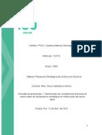 Actividad 1 Identificando las competencias Directivas