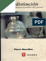 La Distincion-Bourdieu Pierre