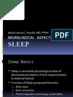 Neurological Aspects of Sleep