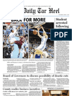 The Daily Tar Heel for April 7, 2011