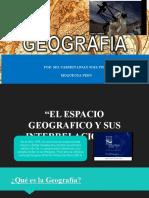 PPT GEOGRAFÍA PRIMERA SEMANA