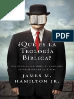 _Que Es La Teologia Biblica_ _ - James M. Hamilton Jr