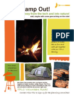 TPLC CampOut Volunteer Flyer
