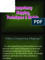 Competency Mapping - Techniques and Models
