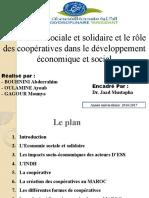 Le Role Des Coopératives Dans l'Économie