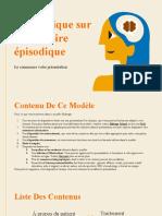 Cas Clinique Sur La Mémoire Épisodique by Slidesgo (1)