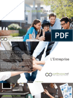 Sujets PFE 2020 ContinuousNet
