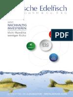 Kurzexpose - Deutsche Edelfisch DEG GmbH