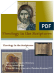 5. Theology in the Scriptures
