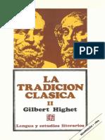 Highet, Gilbert - LA TRADICIÓN CLÁSICA Tomo II