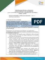 Guia de Actividades y Rubrica de Evaluación - Unidad 1 - Paso 2 - Identificar Problematica