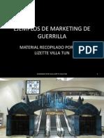 Ejemplos de Marketing de Guerrilla