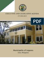 Executive and Legislative Agenda CY 2010-2013