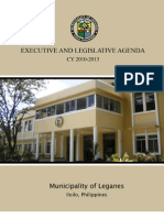 Executive and Legislative Agenda CY 2010-2013