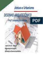 Aula 1 - desenho arquitetonico