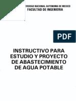 UNAM abastecimiento de agua potable