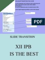Slide Transition