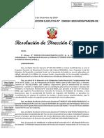RDE N° D000391-2020-MIDIS-PNAEQW-DE - Bases Integradas del Proceso de Compras Electrónico 2021 de la Modalidad Productos