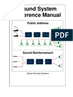 Sound System Reference Manual