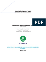 Water Policy Issues of India