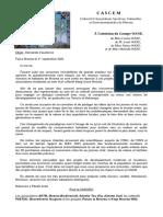 2021-09-01 - Courrier Au Groupe WANE
