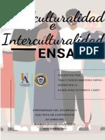 Ensayo de Multiculturalidad e Interculturalidad
