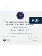 Dr Saraf ISAPS