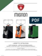 Eureka Specialita Mignon - User Manual