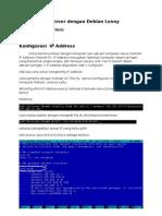 Konfigurasi Debian Leny full