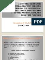 Intellectual Property Code ABASTILLAS