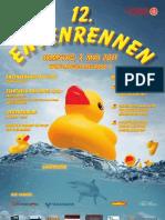 2011 Entenrennen Poster