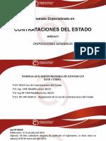 CDE-I Disposiciones Generales
