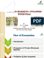 Dr Yadav Private Markets-Untapped Pontential-COSAMB-12-15, September, 2010