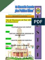 Departamento Académico de Contabilidad SJPS TRABAJO 1