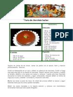 Tarta de Chocolate Sacher