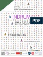 Indrum 2016 Proceedings