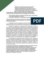 Avaliações - AP3.1 - Atividade Discursiva