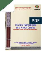 CR Curriculo Regionalizado-Nacion Quechua