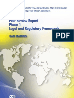 Peer Review Report Phase 1 Legal and Regulatory Framework - San Marino