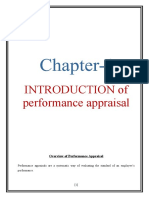 study of performance appraisal