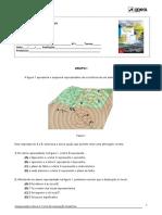 Teste estrutura interna Terra