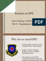 Seminar on GPS