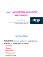 Part programming using CAM workstation1