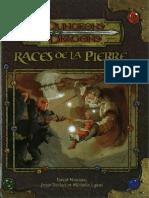 [D&D][FR][3.5] Races de La Pierre