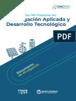 resumen_190_proyectos_investigacion_aplicada_y_desarrollo_tecnologico