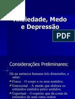 Ansiedade Medo e Depressao