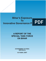 Bihar Governance planning Commission report